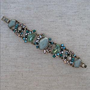 Chloe + Isabel Aquamarina Statement Bracelet